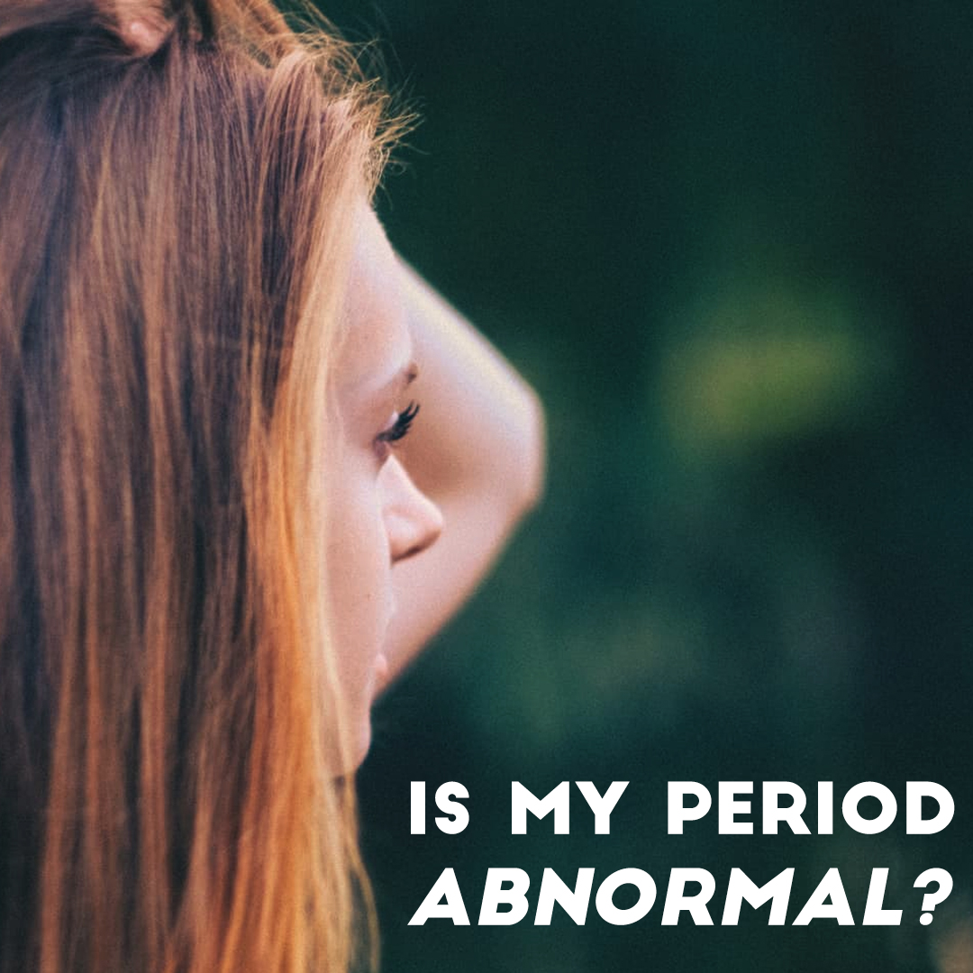 Is my period abnormal