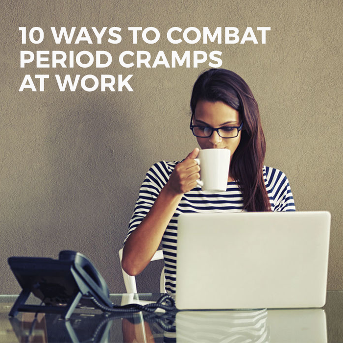 combat period cramps at work