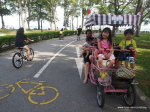 cycling at east coast park