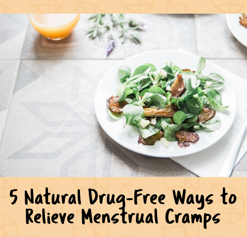 natural drug-free ways to relieve menstrual cramps