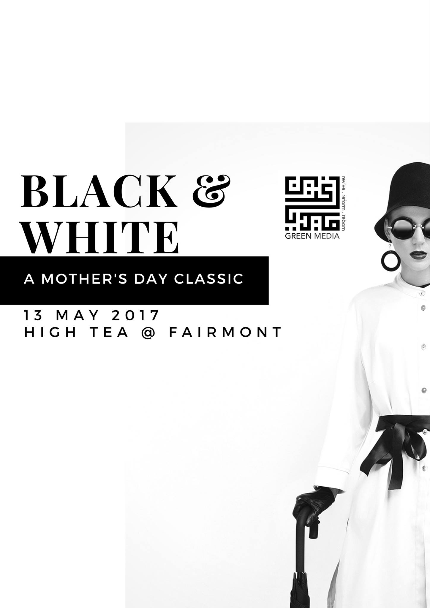 Black & White - A Mother's Day Classic Singapore May Events 2017