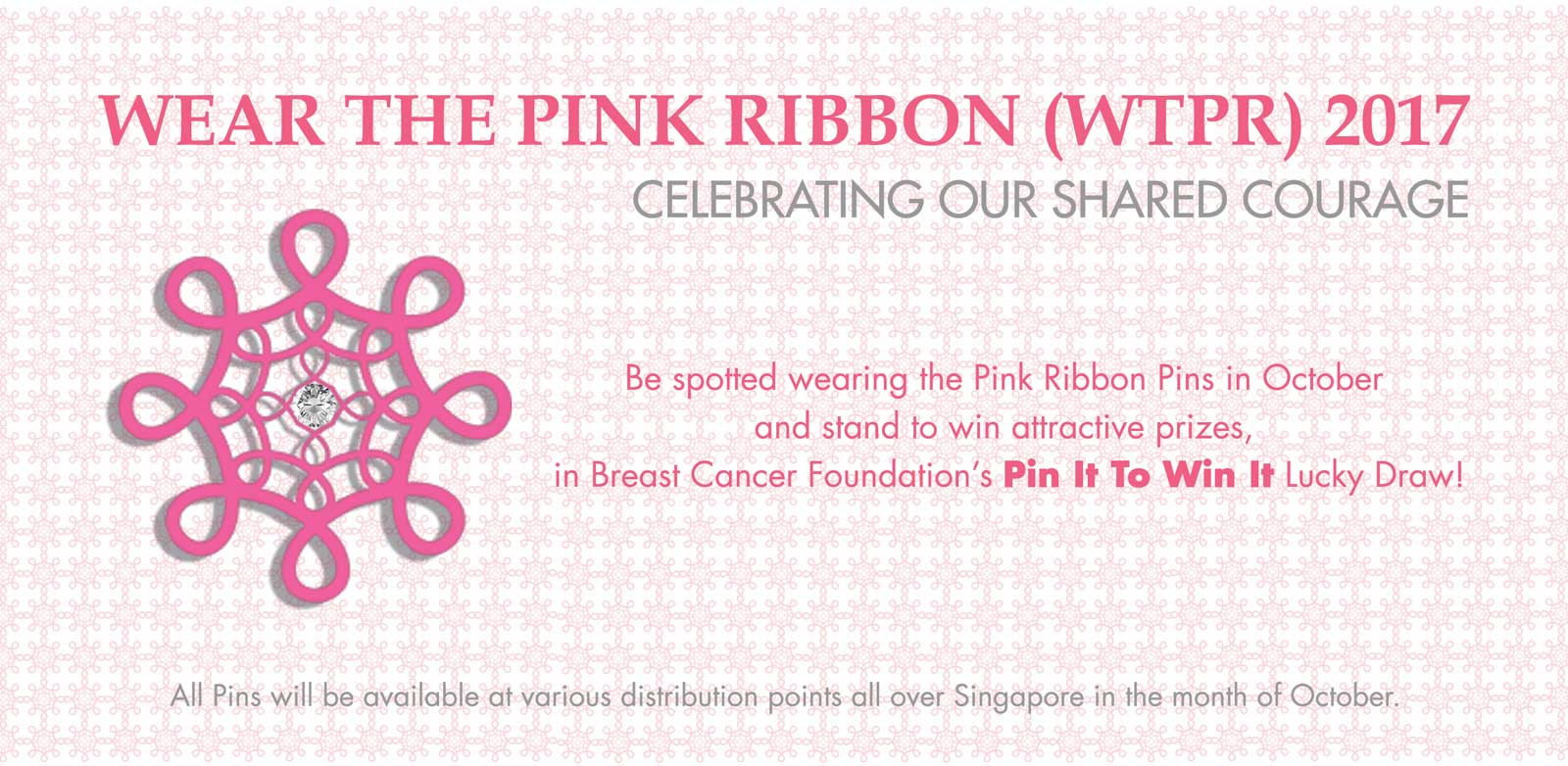 wear the pink ribbon 2017