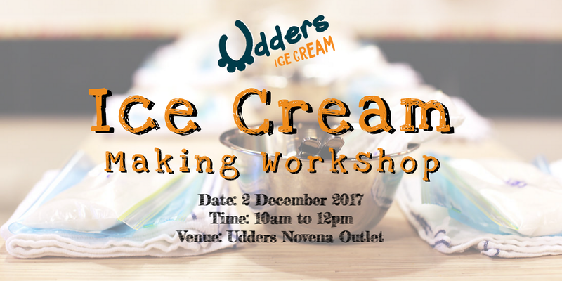 udders ice cream making workshop